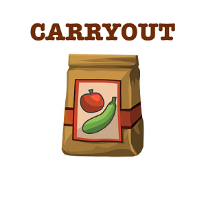 Carry out food image