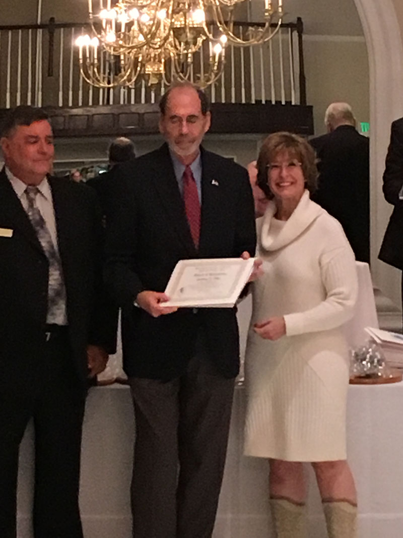 Tony Ellis honored at 2017 Maryland Senior Citizens Hall of Fame Luncheon