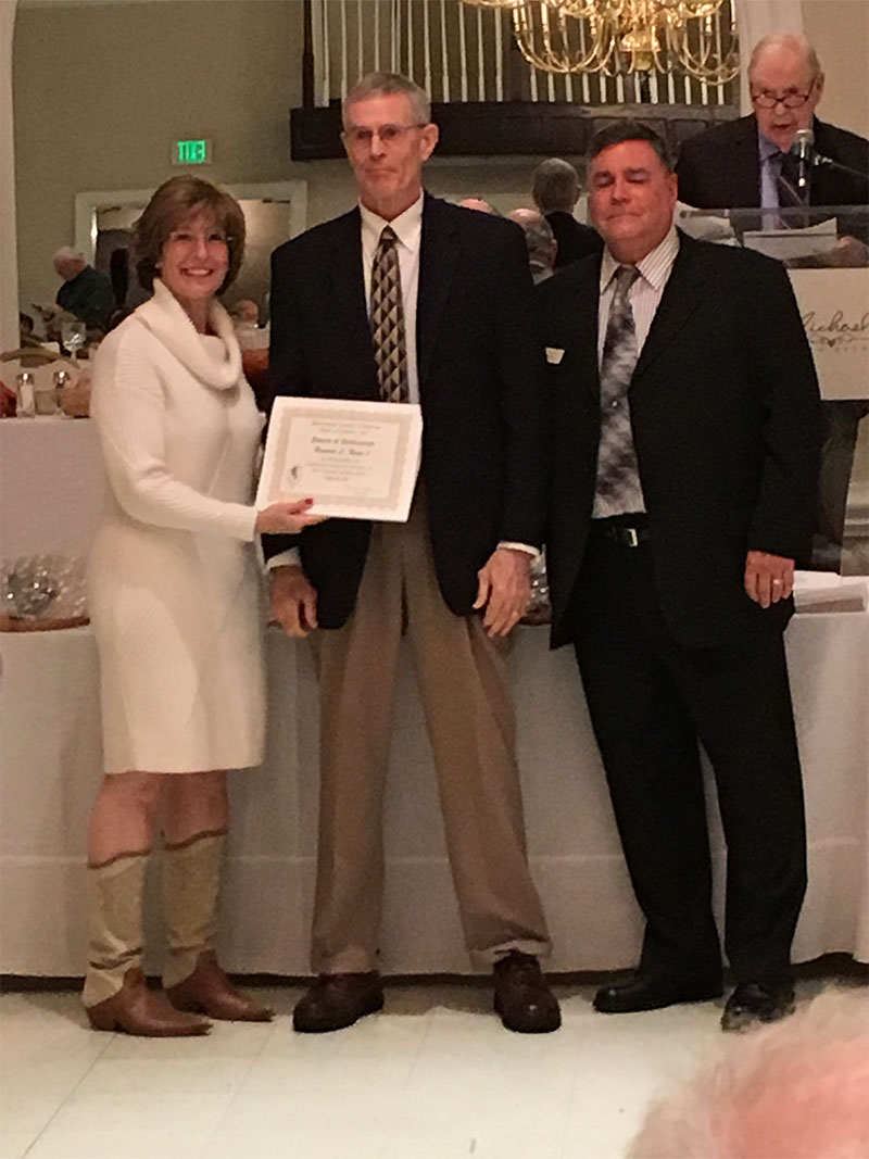 Howie Nixon honored at 2017 Maryland Senior Citizen Hall of Fame