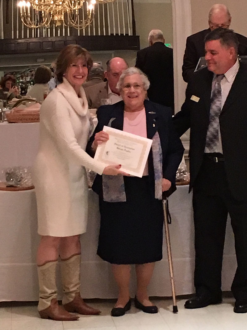 Roberta Poulton honored at 2017 Maryland Senior Citizen Hall of Fame