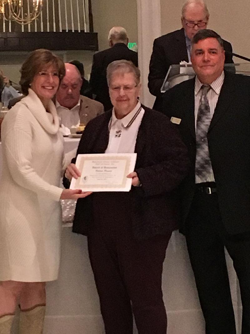 Valerie Ponsini honored at 2017 Maryland Senior Citizen Hall of Fame
