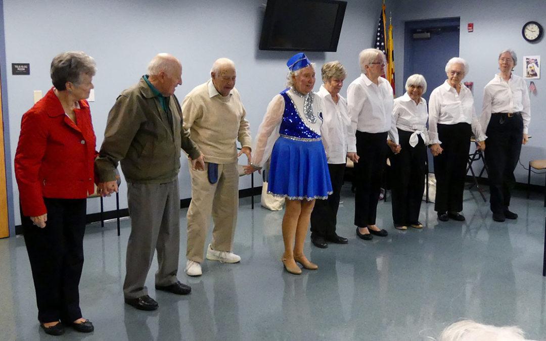 Sassy Seniors Perform