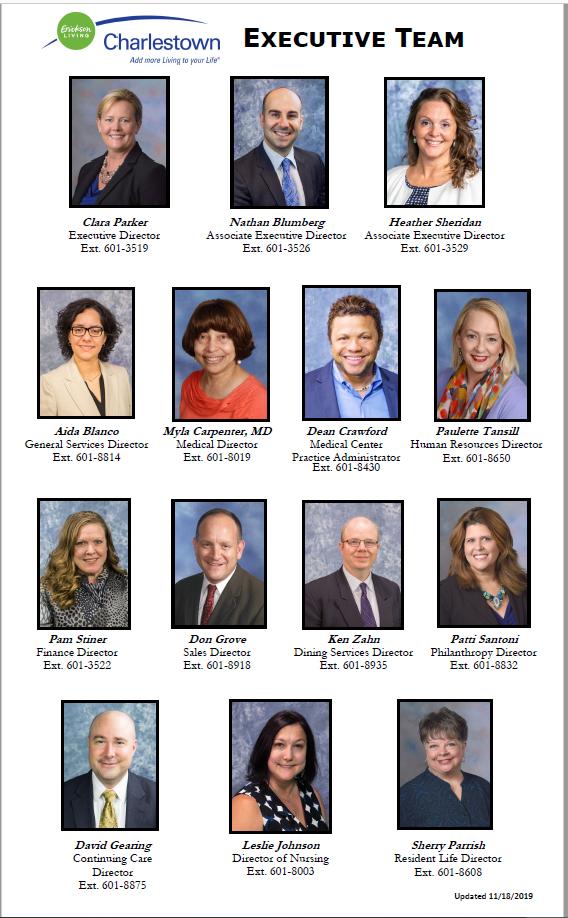 Ctown Executive Team 11-18-2019