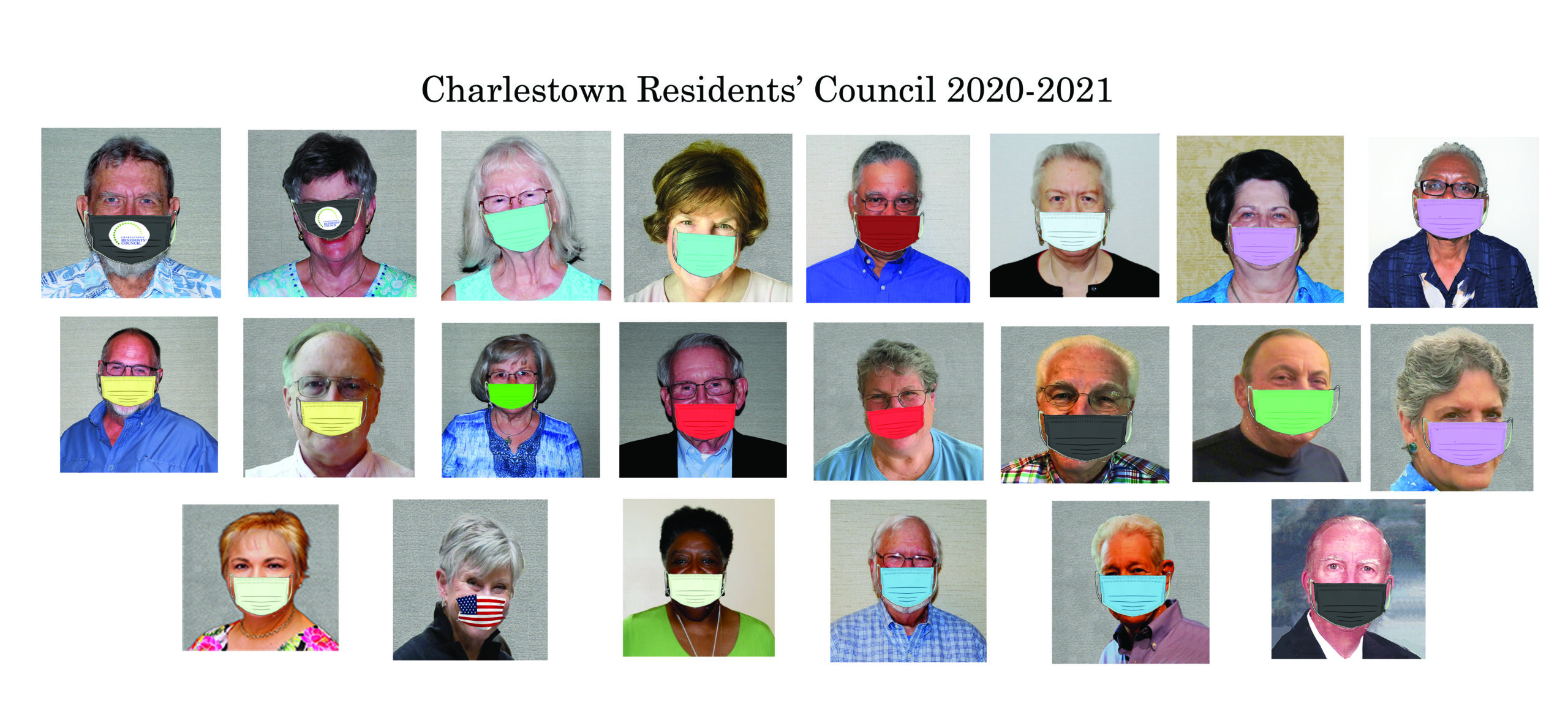 RC 2020-2021 Council recommends you wear mask